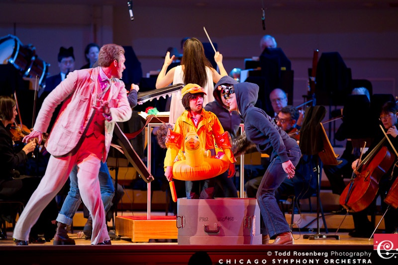 Chicago Symphony Orchestra Kraft Kids Concert Series. Peter and the Wolf (C) Todd Rosenberg Photography 2010